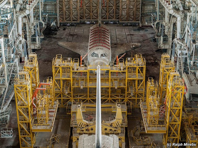 Inside An Abandoned Russian Space Launch Facility