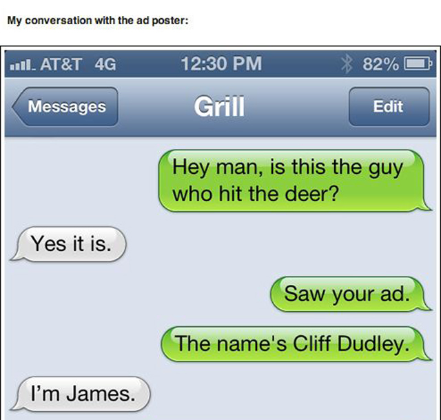 Text Trolling The Deer Hunter