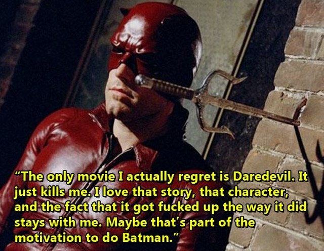 People Who Regretted Their Comic Book Movie