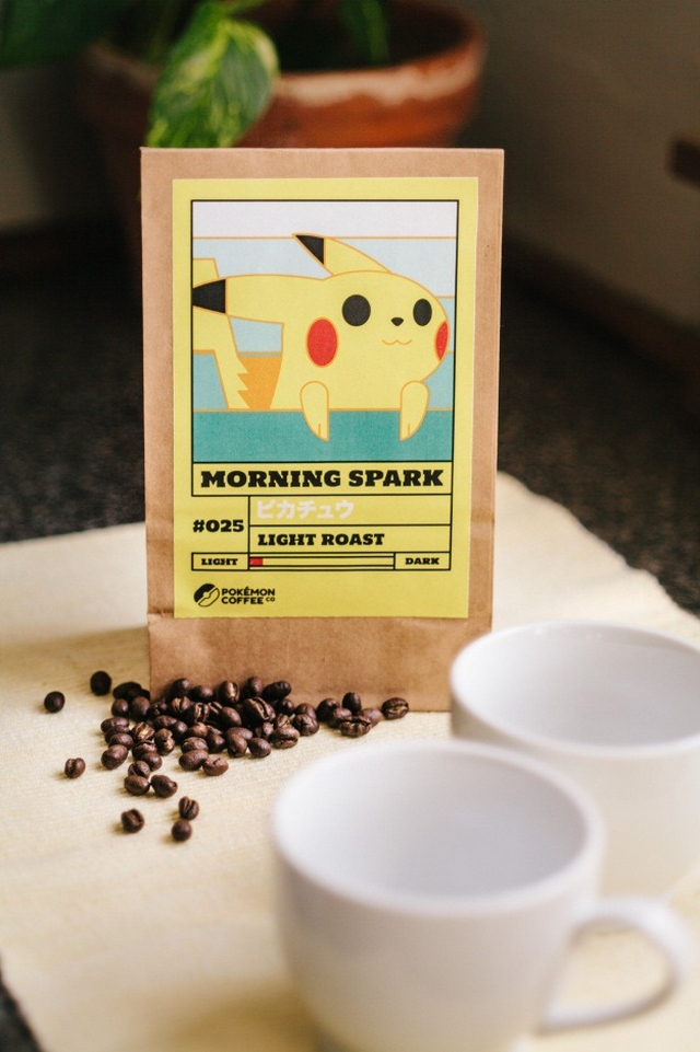 Pokémon Coffee Blend Labels: Gotta Brew 'em All!