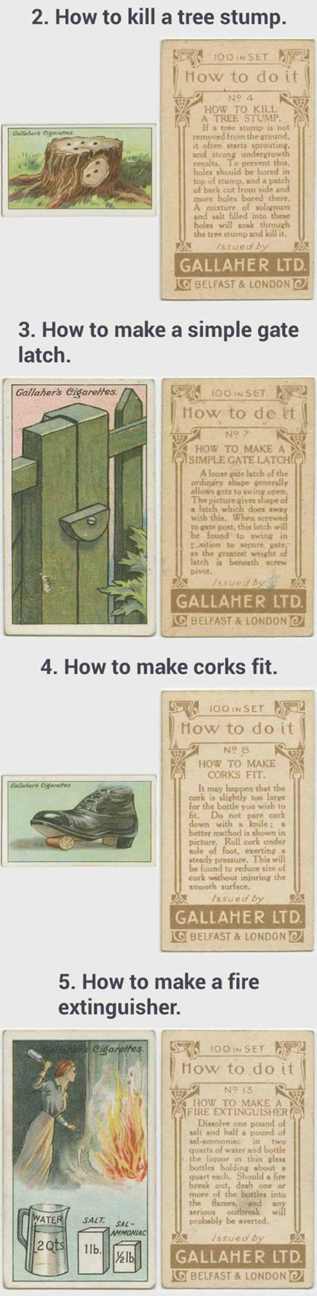 Cool Vintage Life Hacks That Are Still Useful Today