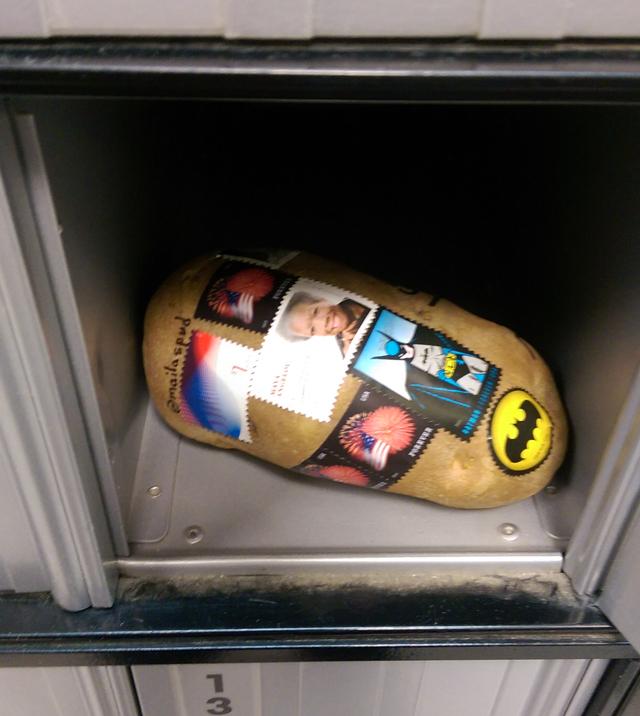 Mail a spud