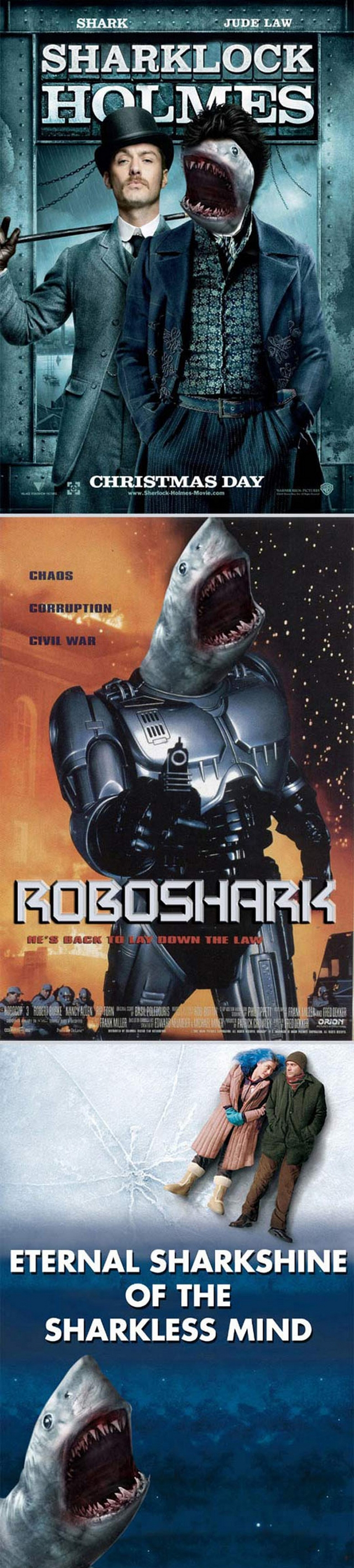 Sharks Make Movies More Fun