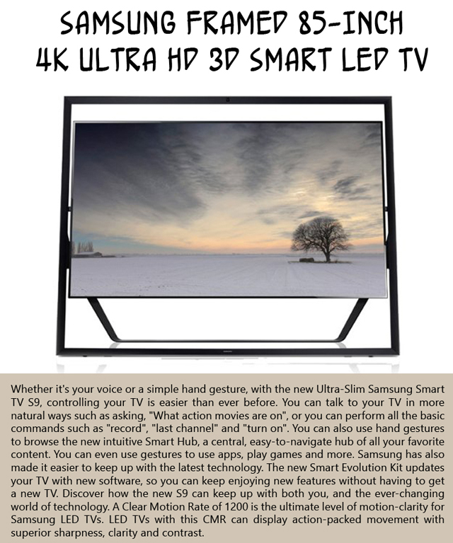 Funny Amazon review of the Ultra-Slim Samsung smart TV S9
