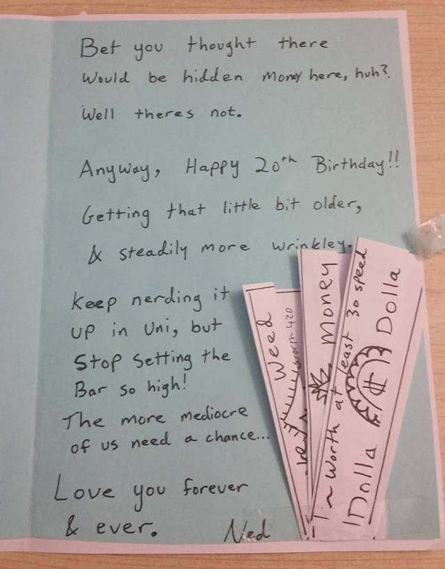 Loving Brother Trolls His Sister On Her Birthday