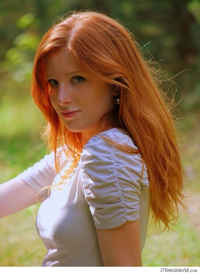 Girlfriend.... Sexiest redhead galleries she