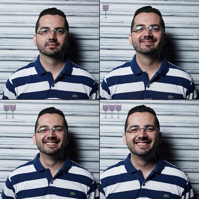 3 Glasses Later photoseries by Marcos Alberti