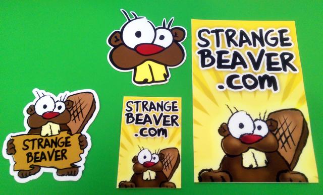 beaver-stickers