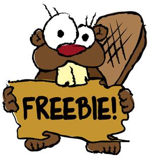 beaver freebie