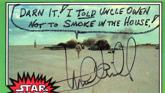 Mark Hamill Gives The Best Autographs