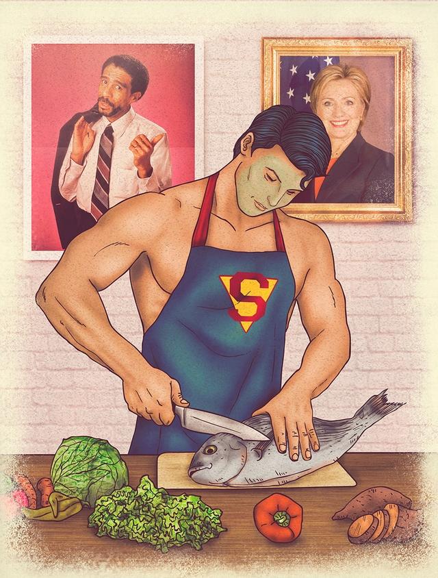 The Juice-tice League - The Secret Lives of Superheroes