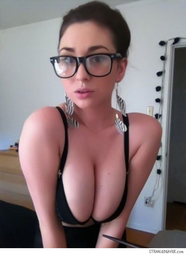 Busty Teen Glasses