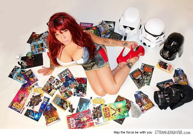 Sexy Star Wars Girl