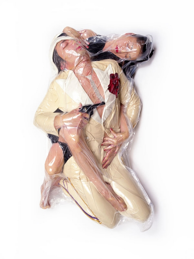 Plastic wrapped people – WTF Photography