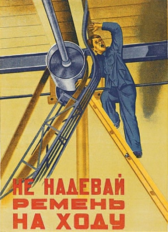 Vintage Russian Safety Posters