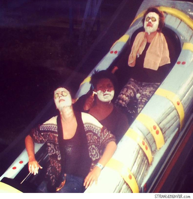 funny on ride photo