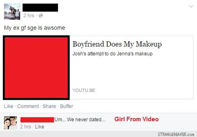 Funny Facebook Fail