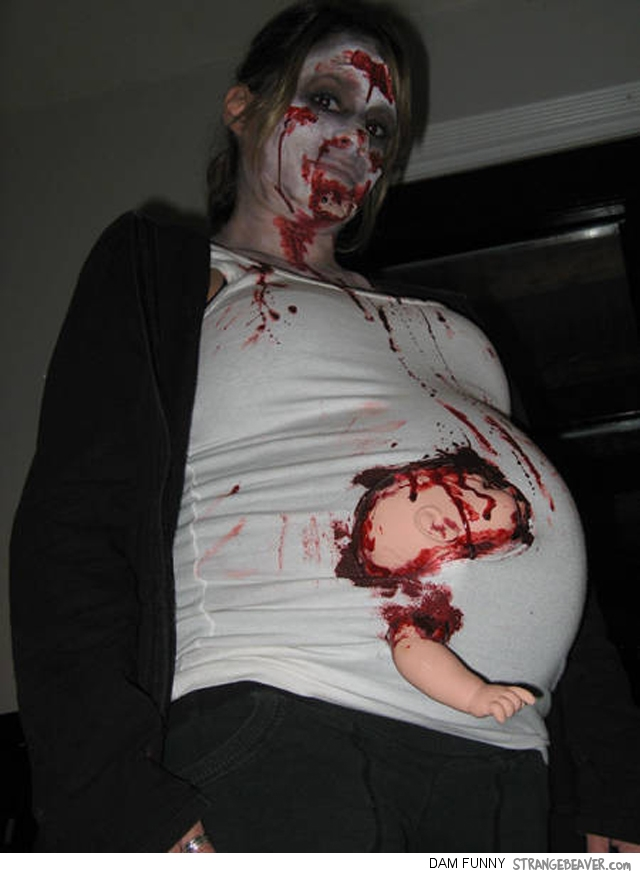 fuuny and clever halloween costumes for pregnant women  u2013 strange beaver