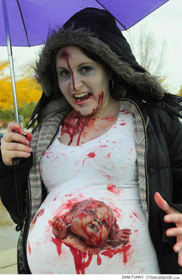 Fuuny And Clever Halloween Costumes For Pregnant Women – Strange ...