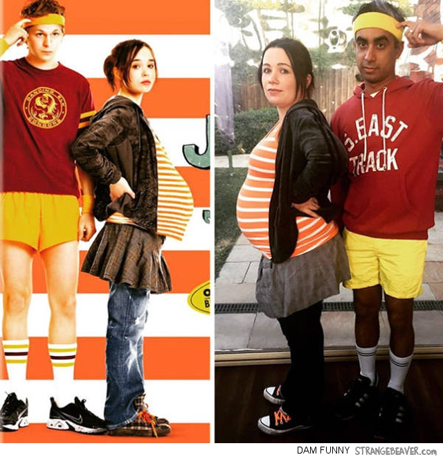 Fuuny And Clever Halloween Costumes For Pregnant Women . c5d5a11c7