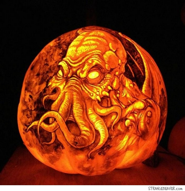 Cool pumpkin carving