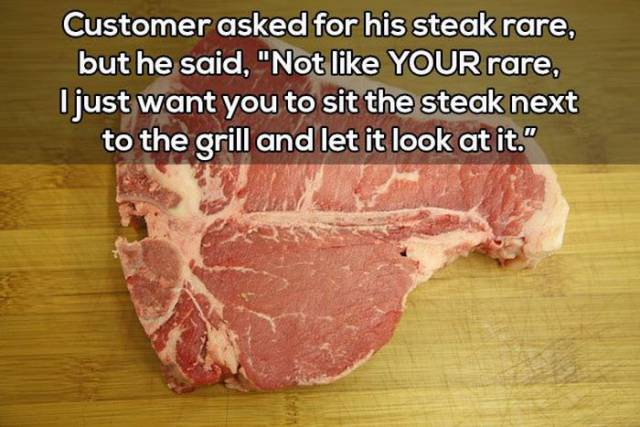 Waiters Share The Stories Of The Most Bizarre And Insane Customer Requests