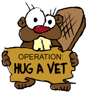 Operation: Hug A Vet!