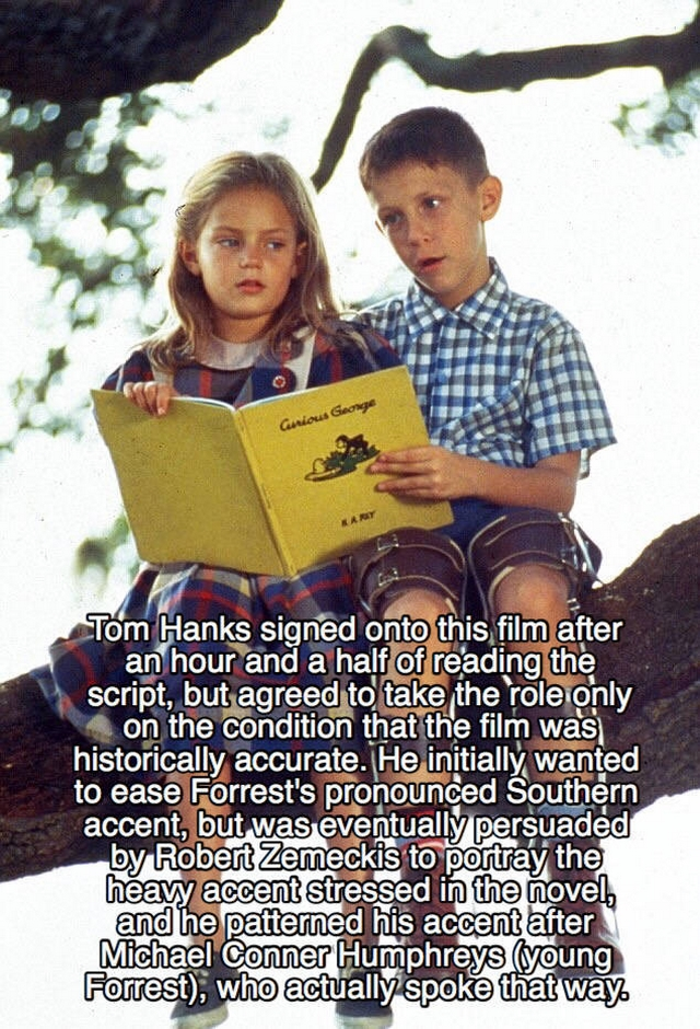 Interesting facts about Forrest Gump