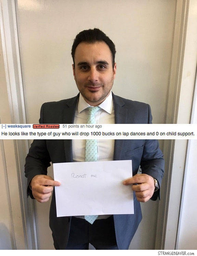 Funny RoastMe responses