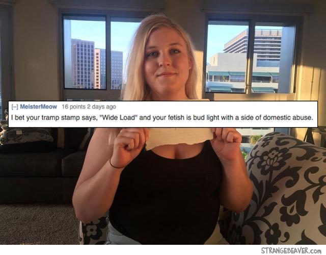 Funny RoastMe responses
