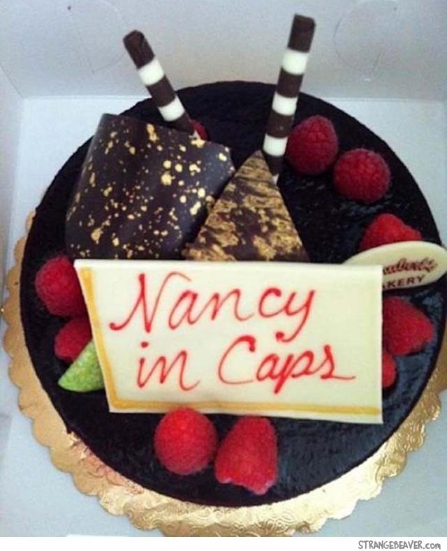 Funny cake fail