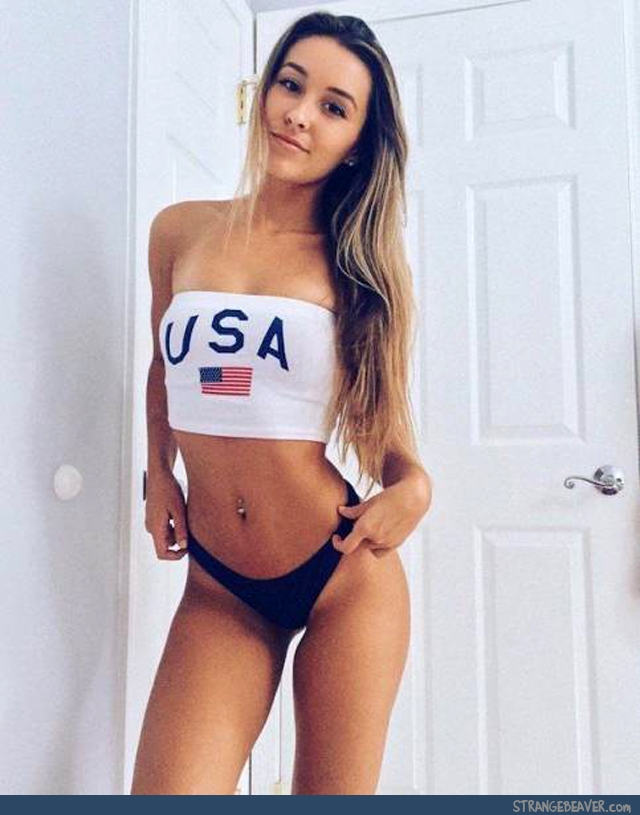 Sexy American Flag