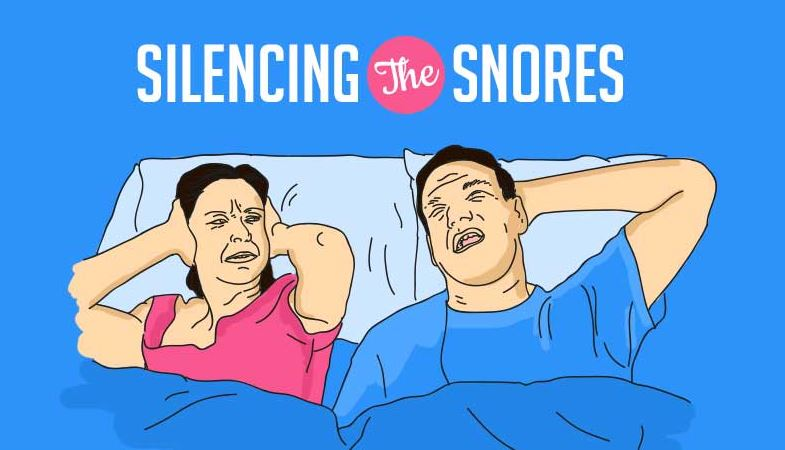 Silencing The Snores (Infographic)
