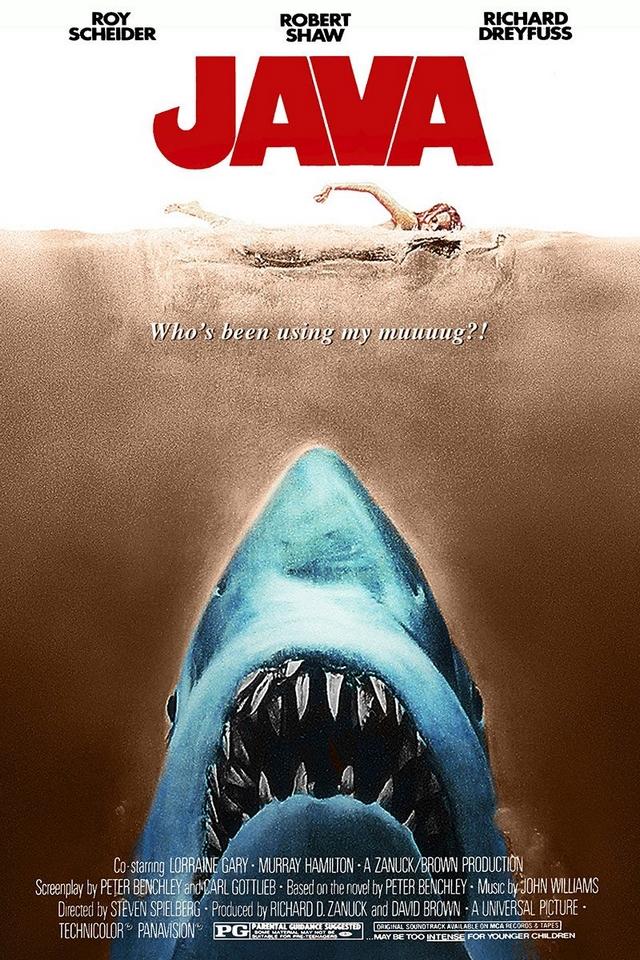 Java movie poster